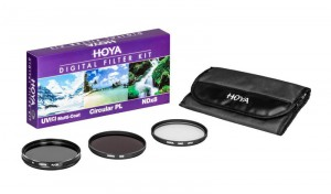 Zestaw filtrów 55mm - Hoya Digital Filter Kit (UV, CIR-PL, ND8)