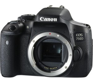 Canon EOS 750D body + 18-135mm