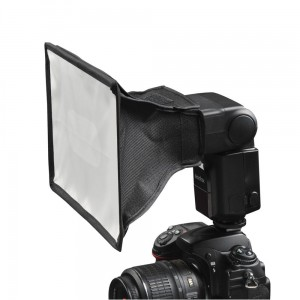 Dyfuzor Softbox 20 x 30 cm do lamp reporterskich