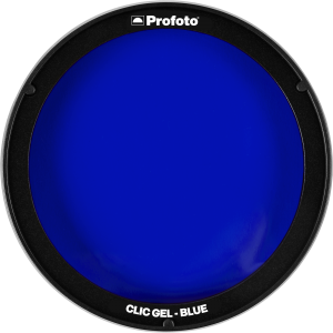 Filtr Profoto Clic Gel Blue do Lampy C1 Plus, A1