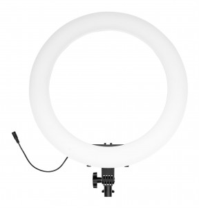 Lampa pierścieniowa LED Newell RL-18A - WB (3200 K - 5500 K)