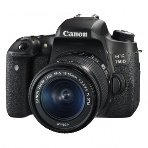 Canon EOS 760D body + 18-55 IS STM
