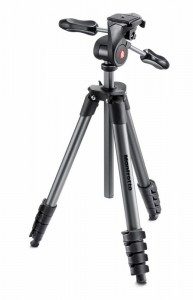 Statyw Manfrotto COMPACT ADVANCED 5 sekc. z gł. 3D czarny