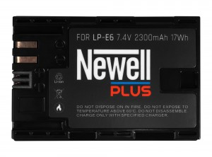 Akumulator Newell Plus LP-E6 (7D Mark II, 7D, 5D Mark II, 5D Mark III, 5DS, 5DS R, 60D, 60Da, 70D, and 6D)