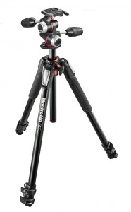 Statyw Manfrotto MK055XPRO3-3W + Głowica MHXPRO-3W