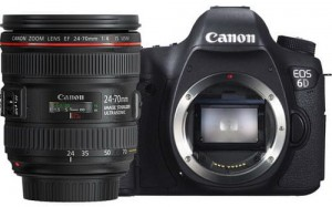 Canon EOS 6D + 24-70MM F/4 USM IS L (WG - wersja z WIFI i GPS)