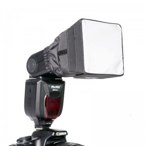Phottix Mini Softbox 9 x 9 cm do lamp reporterskich