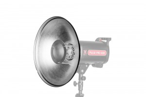 Quadralite Radar Beauty Dish srebrny 42 cm